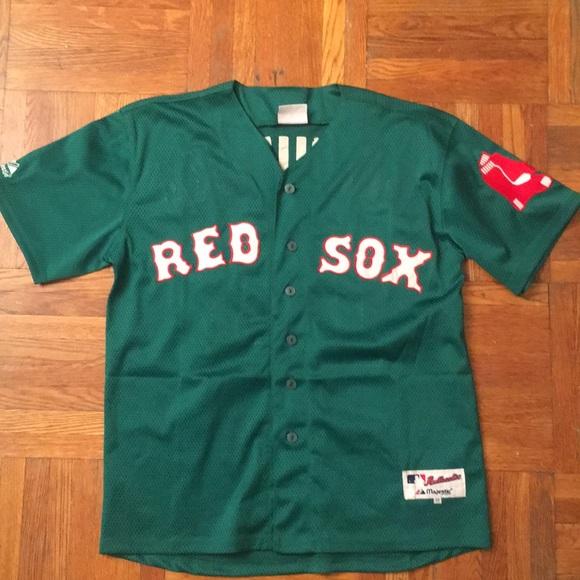 best service d951c b7ce0 Boston Red Sox Stitched Jersey '04 St. Patty - 48